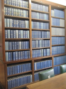 Shelving at Middle Temple Law Library